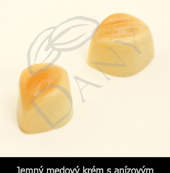 Pralinky-Jemny-medovy-krem-s-anizovym-likerom-v-bielej-cokolade
